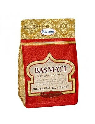 Riviana Foods Basmati Long Grain Rice 1kg