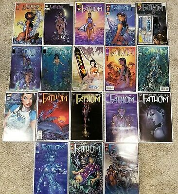 Michael Turner's Fathom Lot Image 0-11 + Variants + Swimsuit Issue + Mail Away