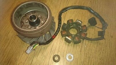 Sym Jet 4 125 Scooter 2013 Generator Stator Fly Wheel Rotor Pick Up Ignition
