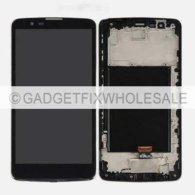 OEM LG Stylo 2 Plus K550 MS550 Display LCD Screen Touch Screen Digitizer + Frame