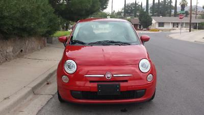 2012 Fiat 500 POP HATCHBACK 2 DOOR car