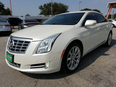 2014 Cadillac XTS Luxury Sedan 4-Door 2014 Sedan Used 3.6L V6 Automatic 6-Speed FWD Leather White xts