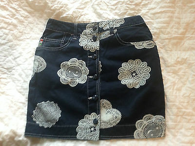 Moschino Jeans Vintage Skirt tg. I42 UK10 US6 F38