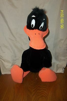 1971 Daffy Duck Plush Warner Bros Mighty Star 20""