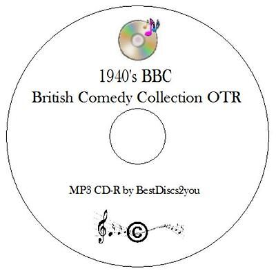 1940's Best of British Comedy Old Time Radio Shows OTR MP3 CD Audio Book Humour