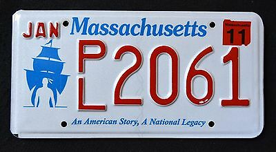 """MASSACHUSETTS """" PLYMOUTH - AMERICAN STORY - LEGACY """" MA SPECILATY License Plate"""