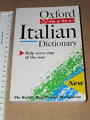 The Oxford Starter Italian Dictionary by Oxford University Press (Paperback)