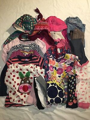 Girls large Clothes Bundle 2-3 Years 24 Items