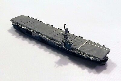 Optatus 8 US Aircraft Carrier Gambier Bay Camouflaged 1/1250 Scale Model Ship