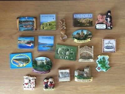 Fridge Magnet Bundle Souvenir Collectable Novelty 18 Pieces