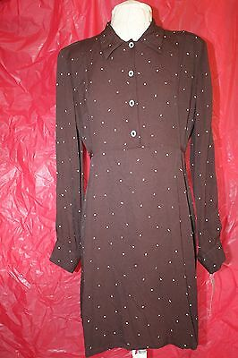 JAPANESE WEEKEND Maternity Nursing Dress Brown Size Small 4245n w/ Tag