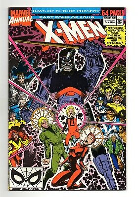 X-Men Annual Vol 1 No 14 1990 (VFN+) Marvel, 1st appearance of Gambit as cameo