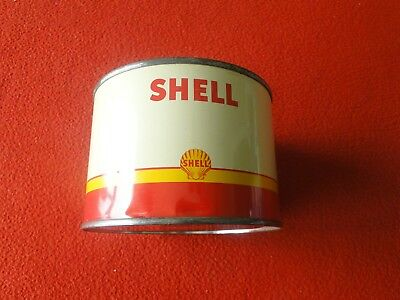 Vintage 1 Pound Shell Oil Grease Can NOS New Old Stock
