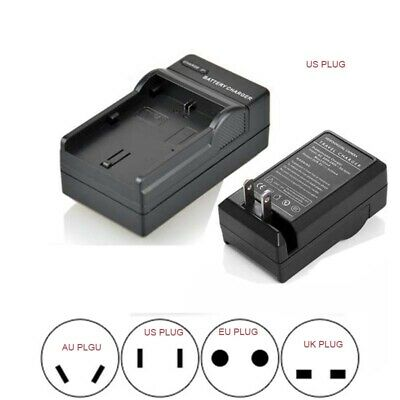 Wall Travl Home Battery Charger For SONY NP-BG1 DSC-W50 DSC-W55 DSC-W70 DSC-W80