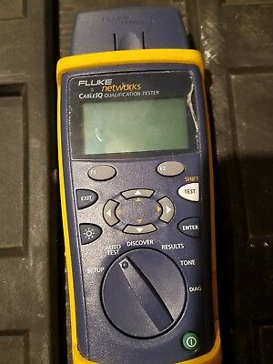 Fluke Networks CableIQ Qualification Cable Tester