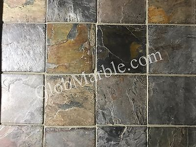 Tumbled Edge Slate Stone Concrete Stamp SM 2111
