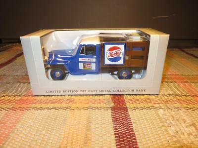 SpecCast Limited Edition Pepsi Cola 1953 Willys Jeep Panel Die Cast Bank In Box