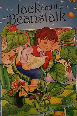 Jack And The Bean Fairy Tales Soft Cover Children Story Book Very Large Edition
