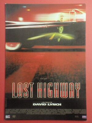 Postcard : LOST HIGHWAY : David Lynch