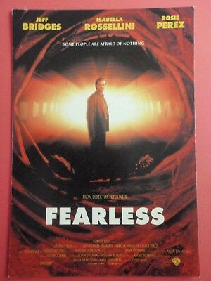 Postcard : FEARLESS : Jeff Bridges