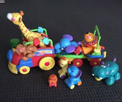 Fisher Price Animal Train Little People