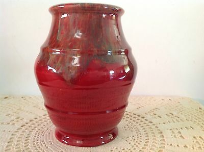 Crown Ducal Ware 235 Vase - With Signature - 1939-42 - Made In England