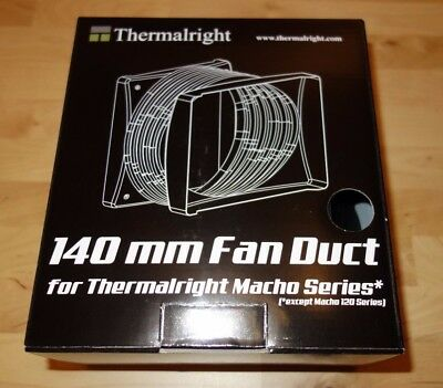 Thermalright 140mm Fan Duct for Macho Series / Black /
