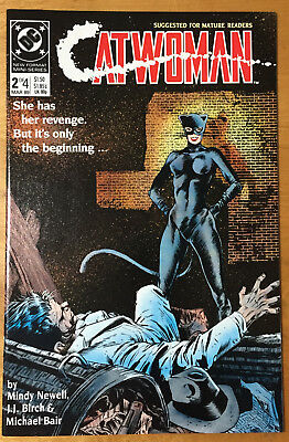 CATWOMAN #2 (DC Comics March 1989) NM 9.4 Free Shipping!