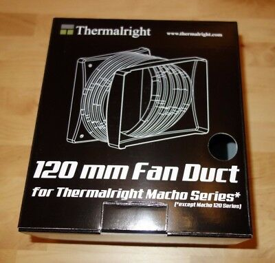 Thermalright 120mm Fan Duct for Macho Series / Black /