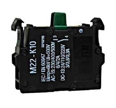 Auxiliary contact 1NO 6A (AC-15) for breaker SCHRACK MC and EATON NZM, MM216376