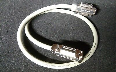 Lot of 3---1M ( 3FT) IEEE-488 Cable GPIB  Metal Connector Adapter  US Ship