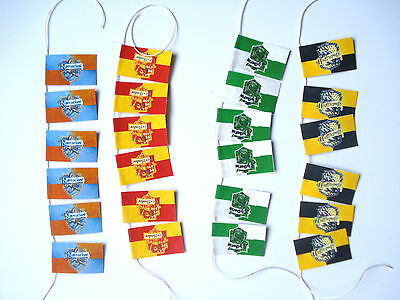 1/12th Dolls House Miniature Harry Potter House Flag Large Bunting