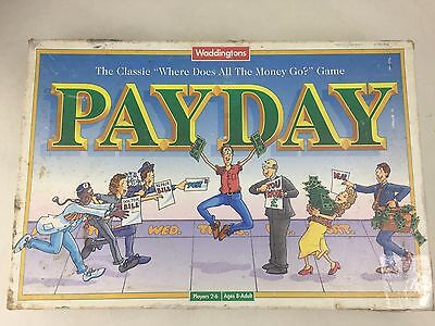 Payday - Board Game -  Parker Brothers - 1994 - Vintage - Waddingtons -