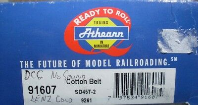 ATHEARN  HO SD45T-2 Cotton  Belt Rd#9261