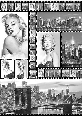 1 Blatt Decoupage Papier Marylin  Stamperia