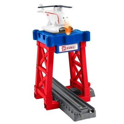 TrackMaster Harolds Helipad Playset Fisher Price Thomas and Friends Role Play