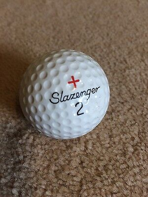 Slazenger rare golf ball - Fireball - Vintage - Good Condition