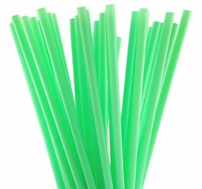 50 Cocktail Drinking Straws - Green - 130 MM Long - Party - Weddings - Straw