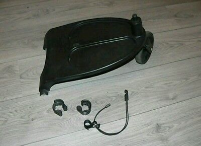 Genuine bugaboo cameleon, frog and gecko wheeled board with adapters and cord..