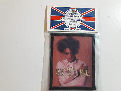 Vintage THE CURE  80s Unused PATCH dark wave gothic smiths punk siouxsie shirt t