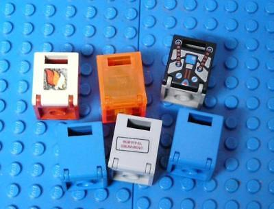 LEGO Container, Box 2 x 2 x 2 Assorted x6PC