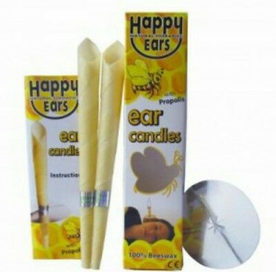 Happy Ears Candles *1 Pair* cone styled