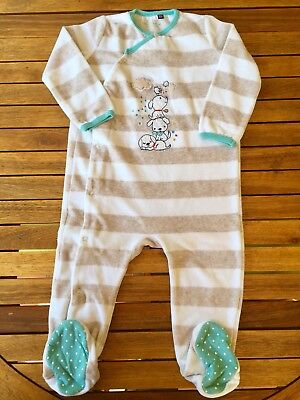 ❤️SERGENT MAJOR ❤️ Pyjama Velours 24 Mois / 2 Ans TBE