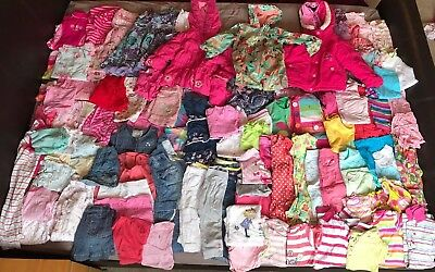 Very Large Bundle of Girls' Clothes Age 2- 3 Years