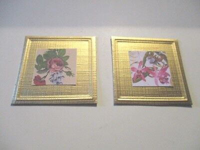 2 Dolls House Miniature  Pictures Ashcfd