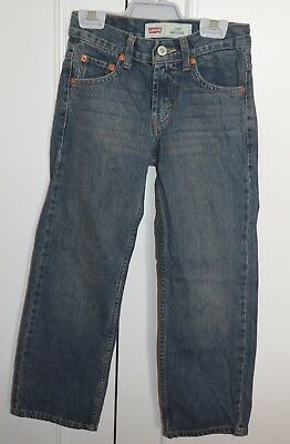 New Boys Levi Jeans 550 Relaxed Fit Size 8 Slim W-22 L-22