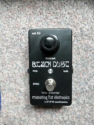 Emanating Fist Electronics (D*A*M) Black Dust Mini Fuzz Pedal