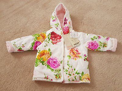Girls 6-9 Month Coat by Monsoon Brand New with Tags