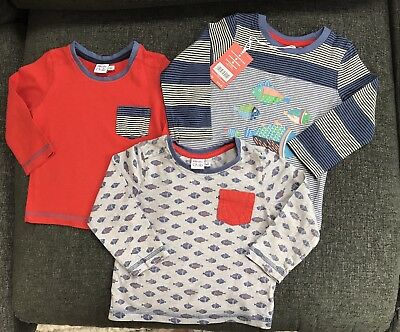Boys Long Sleeve Tops 9-12 Months