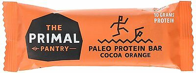 The Primal Pantry Cocoa Orange Paleo Protein Bars ( Pack Of 15)